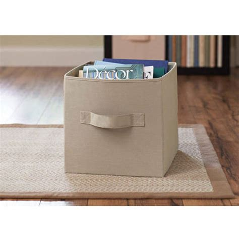 better homes and gardens collapsible fabric storage cube