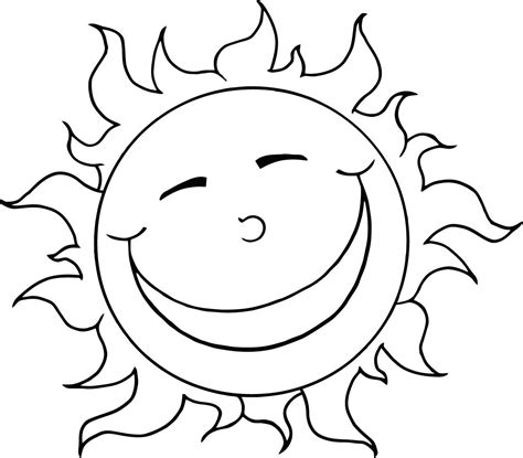 small sun coloring page sun coloring pages to download and print for free