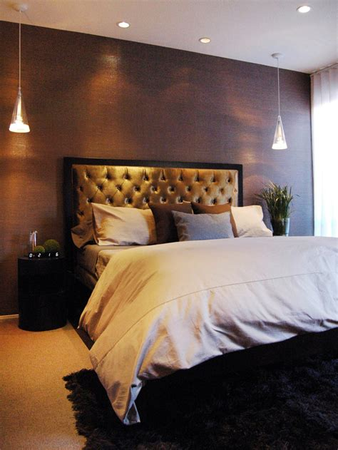 master bedroom headboard ideas bedroom with plush bed hgtv
