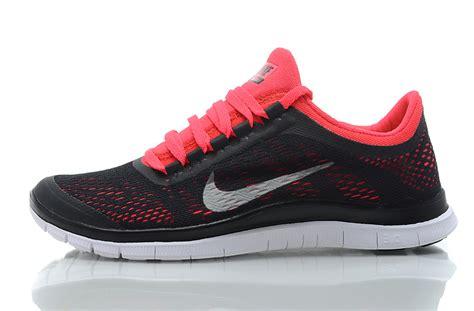 womens nike free 3 0 v5 running shoes nike free 3 0 v5 s running shoes black pink 73 00