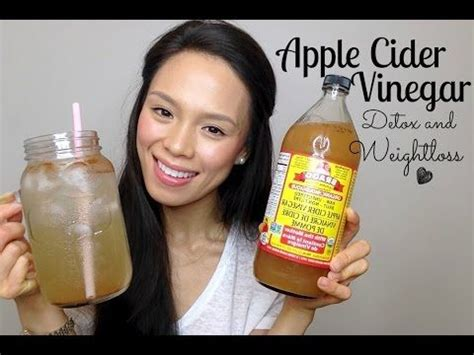 Bedtime Detox And Burn by Apple Cider Vinegar Drink Clear Skin Lose Weight Fight