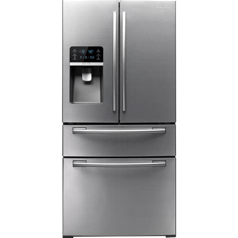Samsung 4 Door by Shop Samsung 25 5 Cu Ft Door Refrigerator With