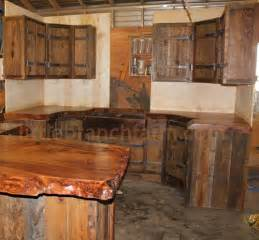 rustic cabinets kitchen 25 best ideas about barn wood cabinets on pinterest