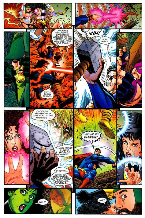 comic vs superman vs thor battles comic vine