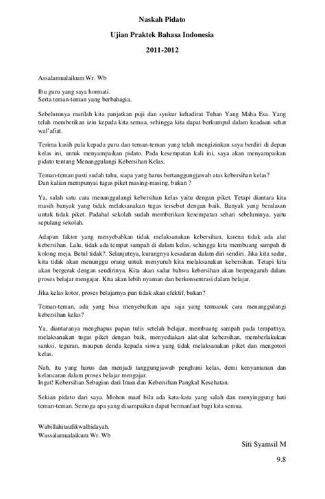 Kumpulan Contoh Teks Pidato | naskah pidato