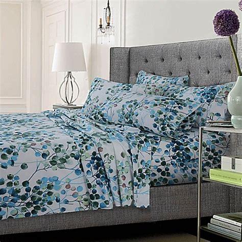 tribeca living sheets tribeca living leaf sheet set bed bath beyond