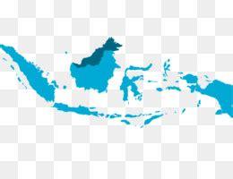 indonesia peta vektor peta gambar png