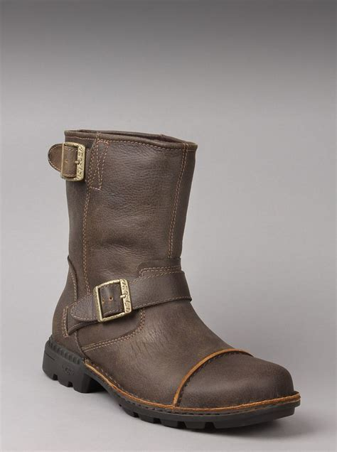 mens motorcycle boots ugg 174 australia s motorcycle boot rockville ii in dune