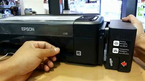 Printer Epson L120 Dan L210 how to refill epson l100 l110 l120 l200 l210 l300 l350