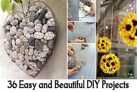36 Easy And Beautiful Diy 36 Easy And Beautiful Diy Projects Lil Moo Creations