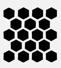 pattern stencil templates honeycomb stencil beehive hexagon stencils background