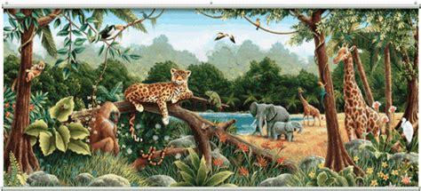 rainforest wall mural minute murals  mural store