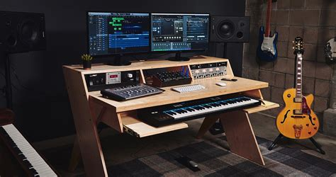 desk for studio platform by output a studio desk for musicians