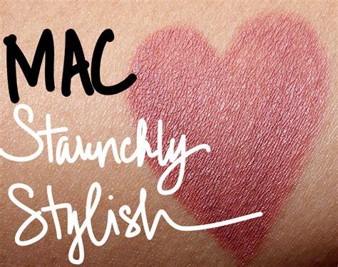 The One Colour Stylish Lip Liner mac unsung heroes staunchly stylish pro longwear lip