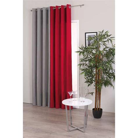 decor rideau maison rideau satin gris 140x260cm