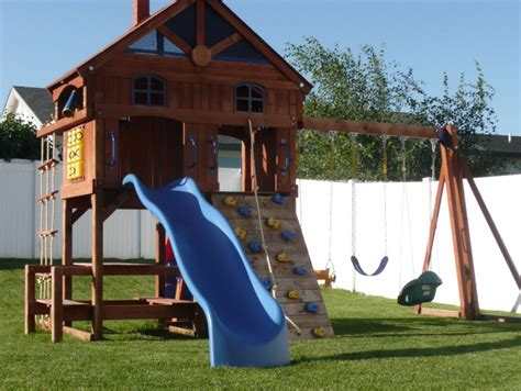 playground for backyard backyard playground top notch turf kalispell mt