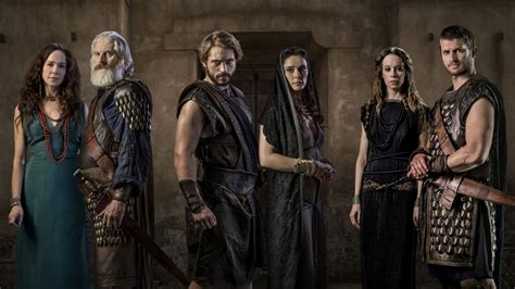 Troy Fall Of A City Meet The Cast And Characters Of The
