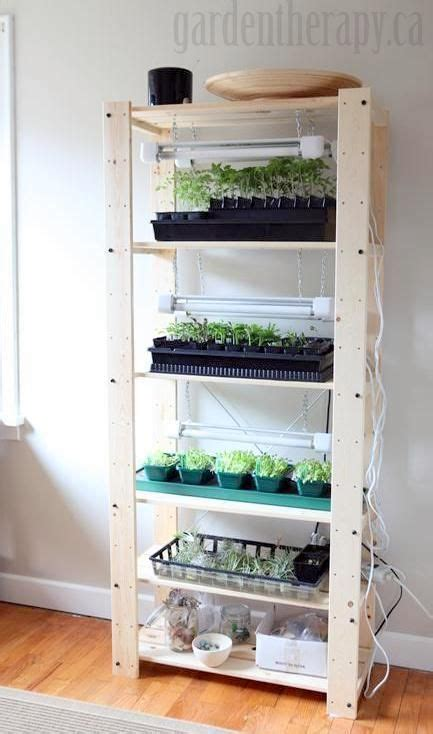 Kitchen Grow Lights 25 Best Ideas About Indoor Greenhouse On Growing Vegetables Growing Vegetables