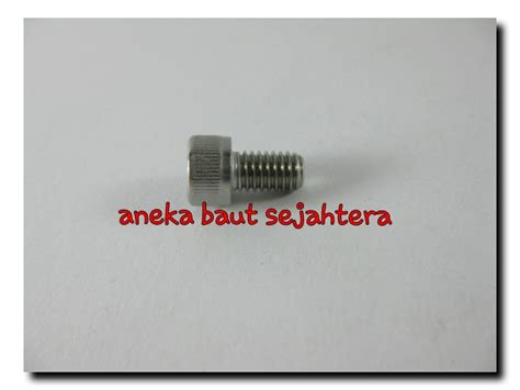 Baut L Stainless M6x20 jual baut l m6x20 stainless steel aneka baut sejahtera
