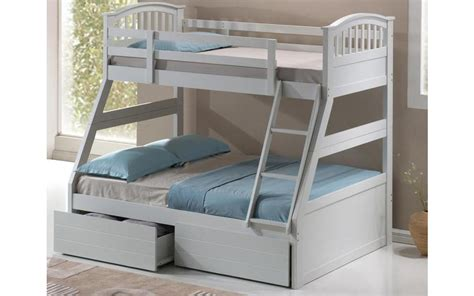 Wooden Bunk Beds With Mattresses Three Sleeper Wooden Bunk Bed Mattress