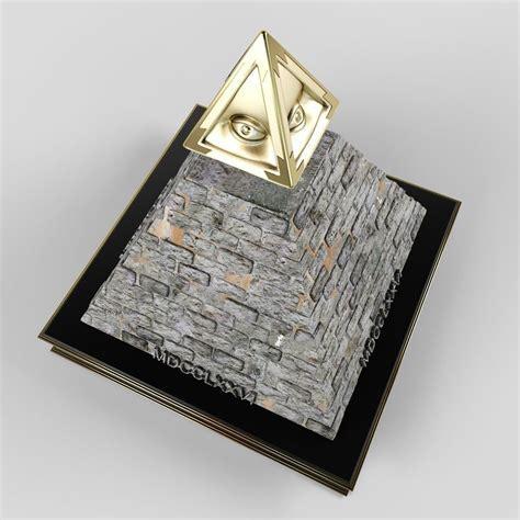 illuminati pyramids illuminati pyramid 3d model obj cgtrader