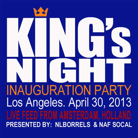 s day events los angeles king s inauguration los angeles 30 april