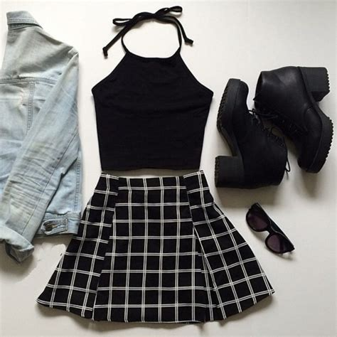Kazel Singlet Jumper 6in1 White Series skirt shirt shoes a line skirt halter top grunge aesthetic