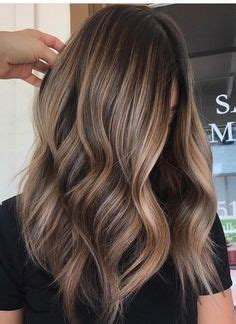 image result for blunt bangs and balayage coiffure coiffures m 232 ches et beaut 233 image result for light brown balayage on hair hair styles cheveux