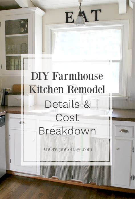 diy kitchen renovation 80s ranch to farmhouse fresh diy kitchen remodel details