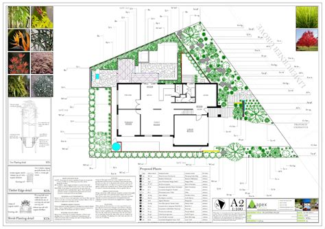 design blueprints landscape interesting landscape design plans landscape design plans dwg landscape design plans