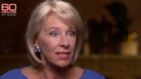 betsy devos interview twitter is dragging betsy devos after her painful 60