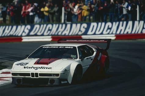 bmw m1 hatch car history brands hatch 1980 bmw m1 club