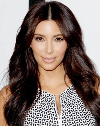 are deep chestnut brown and dark chocolate a similar hair color kim kardashian who is your celebrity hair icon