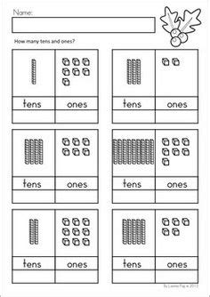 printable tens and units worksheets 1000 ideas about tens and ones on pinterest place