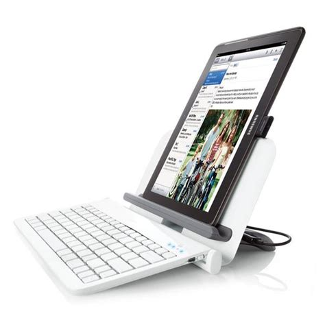Keyboard Usb Tablet bluetooth tablet station with wireless keyboard and usb