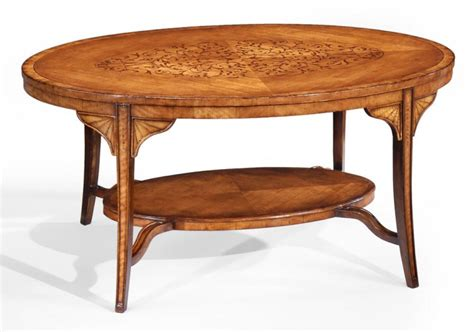 High End Coffee Table High End Furniture Oval Coffee Tables