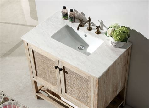 whitewash bathroom abel 36 inch rustic white wash bathroom vanity marble top
