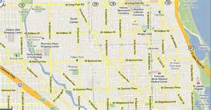 Chicago Streets Map by Similiar Chicago City Street Map Keywords