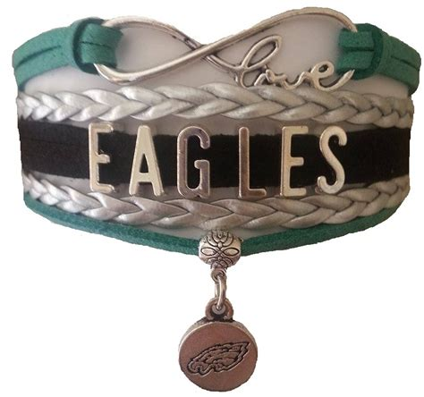 philadelphia eagles fan shop philadelphia eagles football fan shop infinity bracelet
