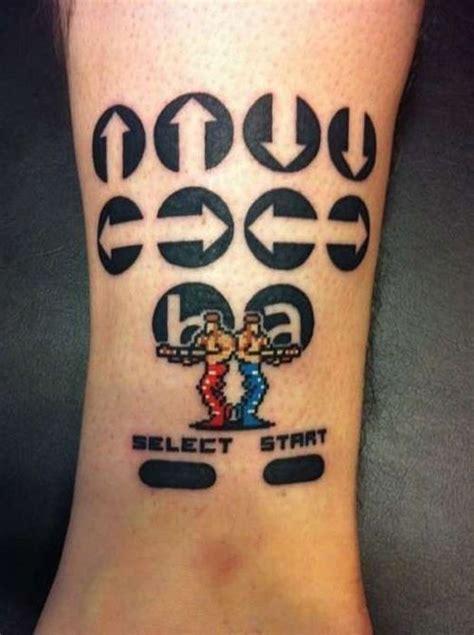 old school video game tattoo les plus incroyables tatouages de jeu vido
