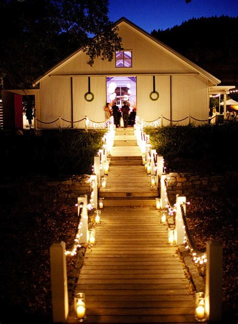 outdoor walkway lighting for wedding vintage hair styles