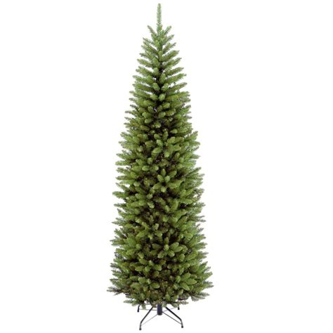 what is a hinged artificial christmas tree national tree company 7 ft kingswood fir pencil hinged artificial tree kw7 500 70