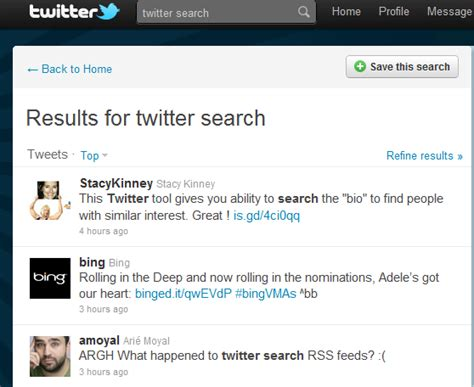 Search Peoples Tweets Tips How To Search To Find New To Follow