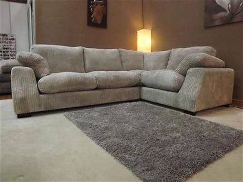 scs corner sofa fabric scs panama jumbo cord stone fabric corner group sofa