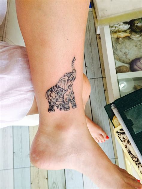 small thai tattoos starting the year in thailand thai elephant and