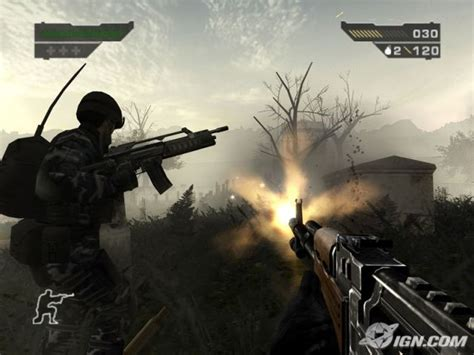 Graphics Battle Battlefield 2 Black Ps2 Vs Conduit
