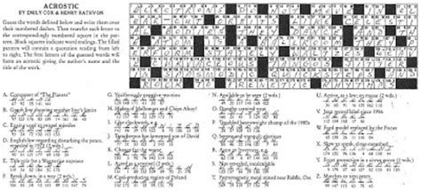 newspaper section crossword crosswords games nytimes com the new york ti