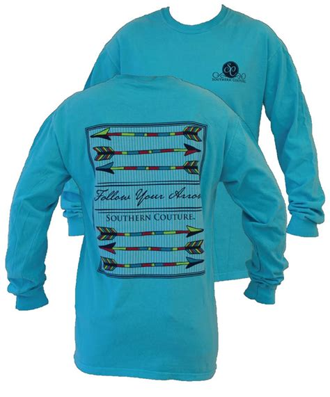 southern comfort tshirts southern couture preppy follow your arrow from simply cute
