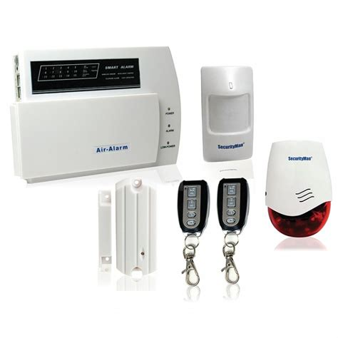 exploring the numerous components of a wireless home alarm