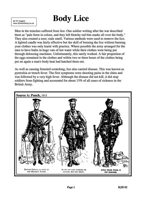 Wwi Worksheets by Ww1 The Great War Worksheets Ks3 Ks4 Lesson Plans